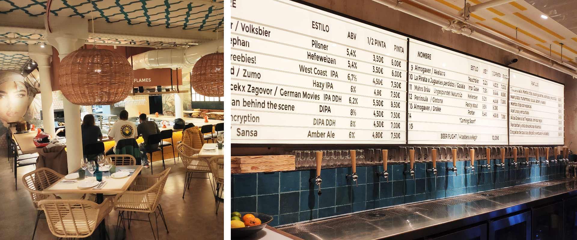 Restaurante y Cervecería Artesanal Sumac & Mambo Barcelona