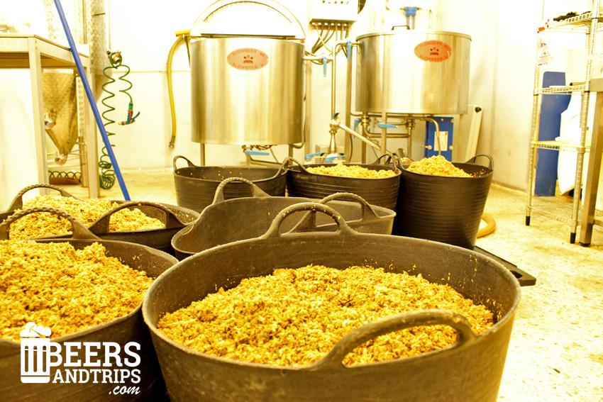 Instalaciones de la fábrica de Cerveceros del Asón en Ampuero