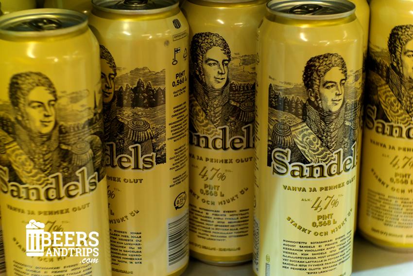 Cerveza Sandels