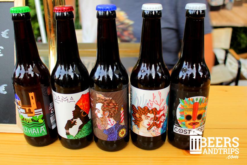 Cervezas Althaia en la Feria de la cerveza del Poblenou en Barcelona