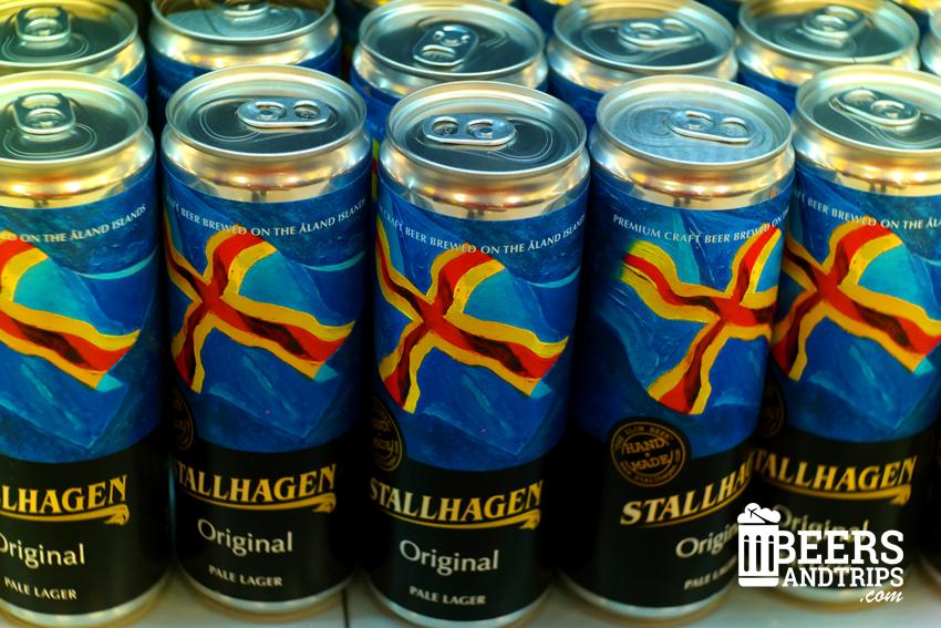 Stallhagen Original, cerveza de las islas Alland