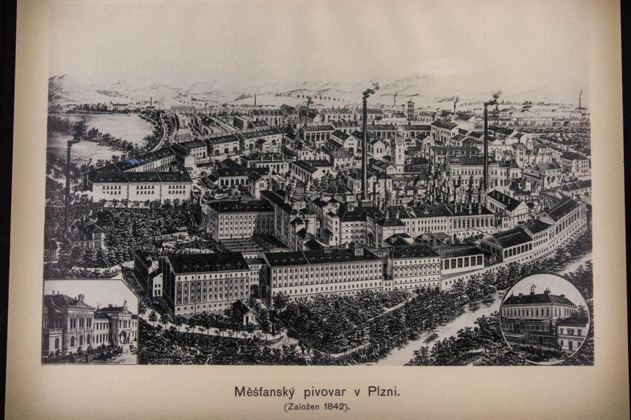 Fábrica de cerveza en Pilsen