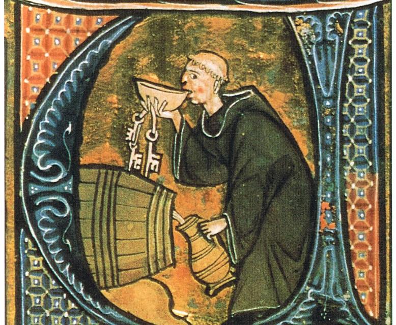 Los monjes de los monasterios, productores de cerveza durante la Edad Media