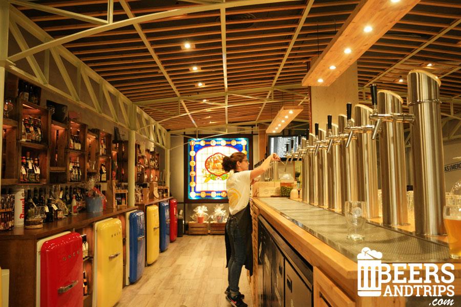 Cervezas del Mercado de Colón en Valencia