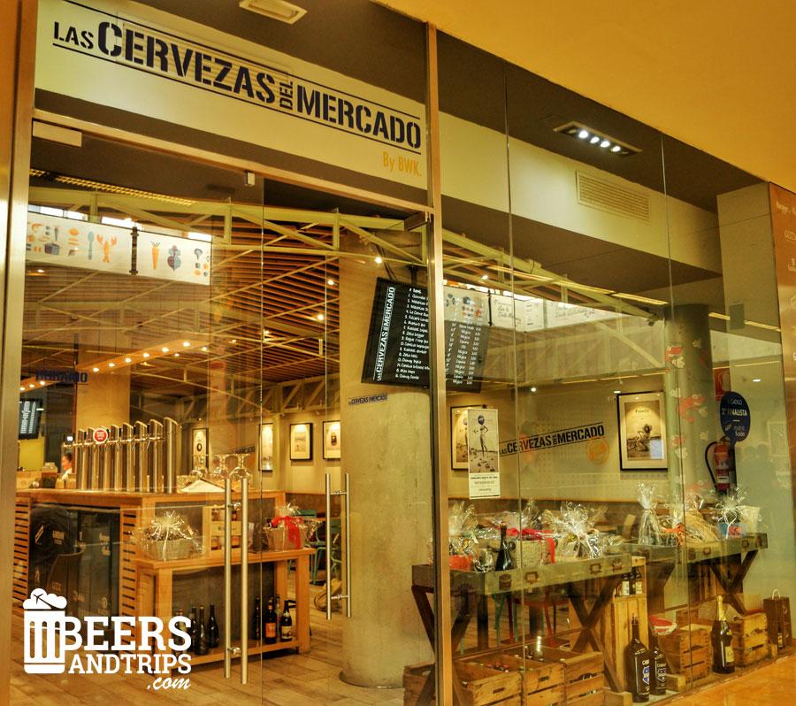 Las Cervezas del Mercado, un lugar donde probar las mejores cervezas en Valencia