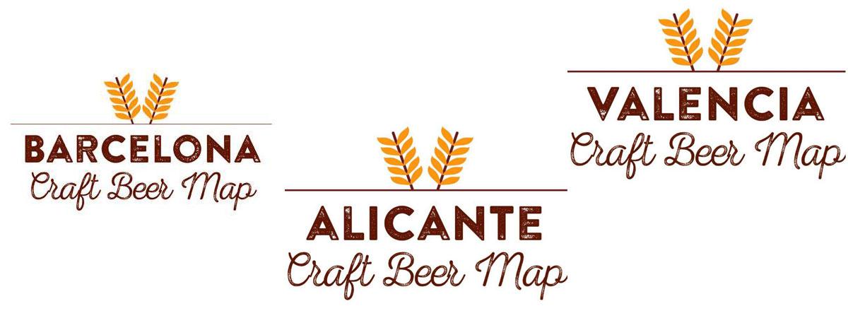 Ciudades con Mapa de cervezas artesanas