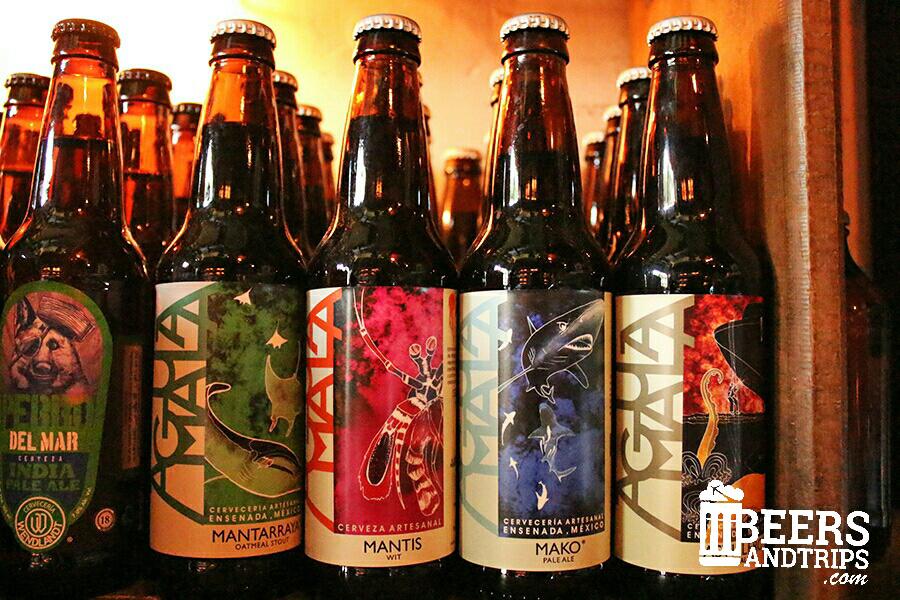 Cervezas Agua Mala en la tienda La Belga