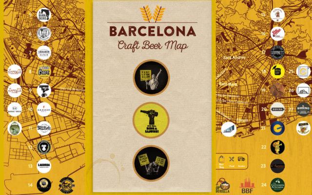 Barcelona Craft Beer map – El Mapa de la cerveza artesana