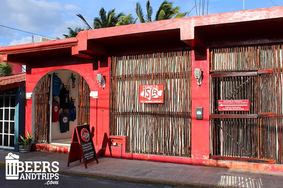 Microcervecería Isla Brewing en Isla Mujeres