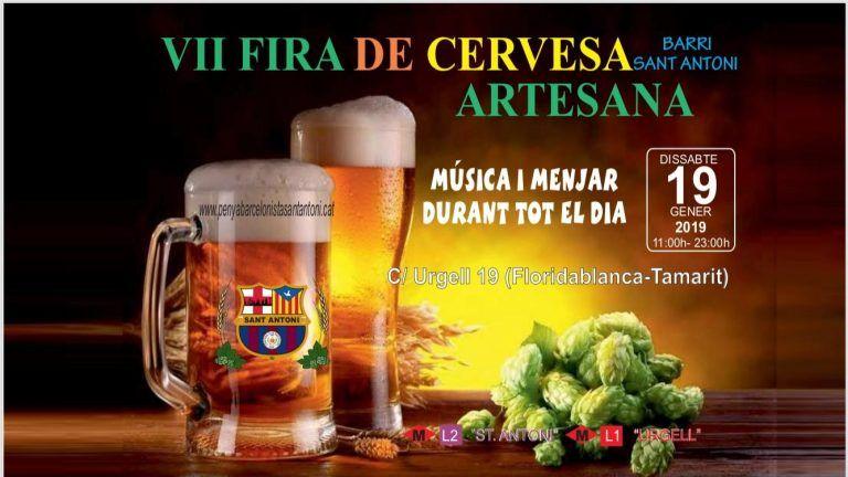 Feria de la Cerveza artesana de Sant'Antoni 2019