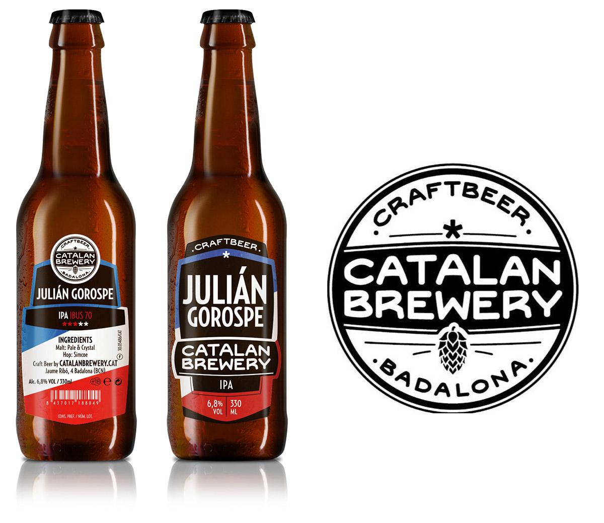 Julián Gorospe, cerveza artesana de Catalán Brewery