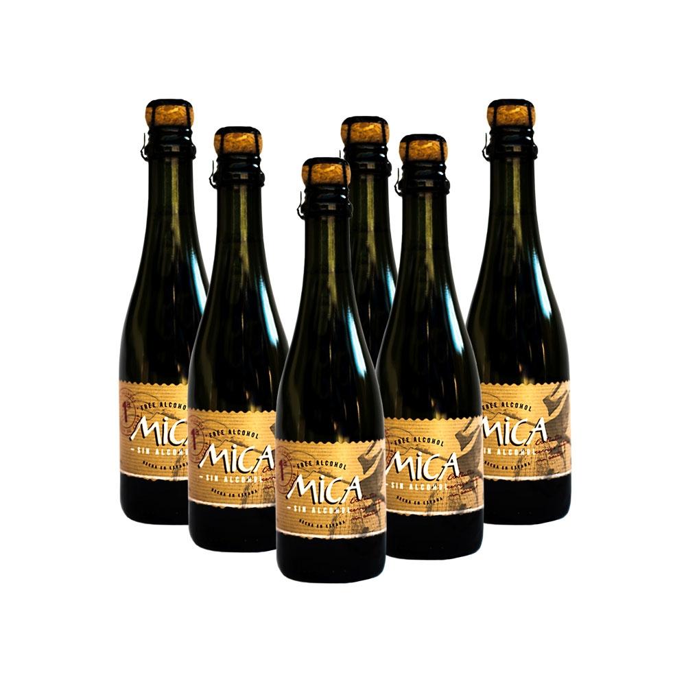 Cerveza artesana Mica Sin