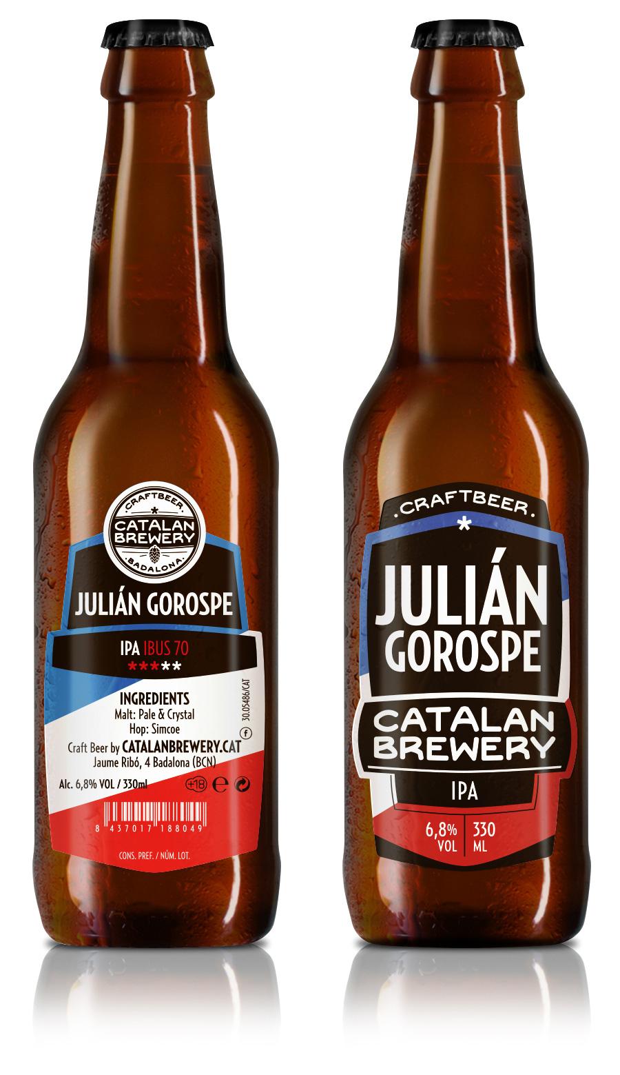 Cerveza artesana Julián Gorospe