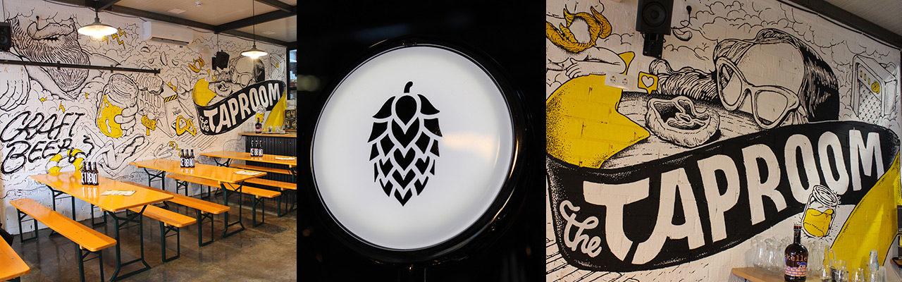 Taproom de Catalan Brewery en Badalona