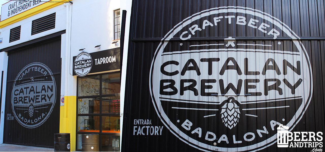 Taproom y fábrica de Catalan Brewery en Badalona