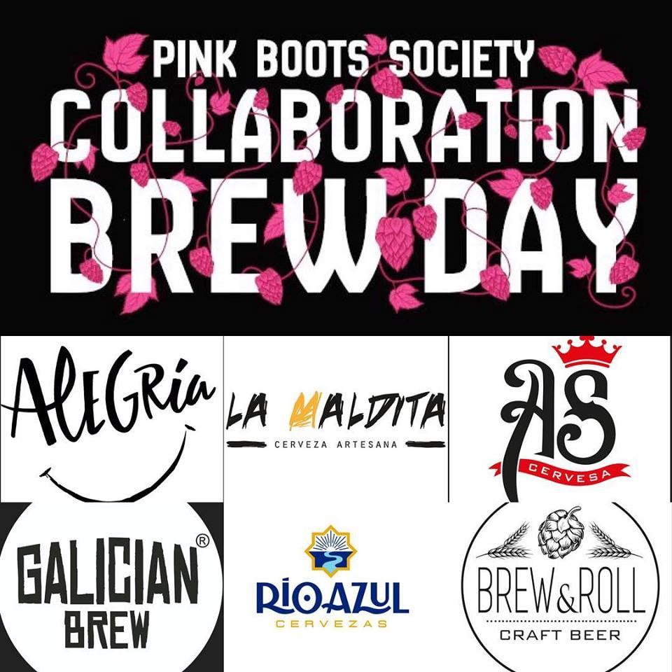 Collaboration Brewday de Pink Boots Socity España
