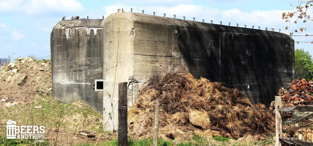 Bunker en la granja de Hof Ten Dormaal