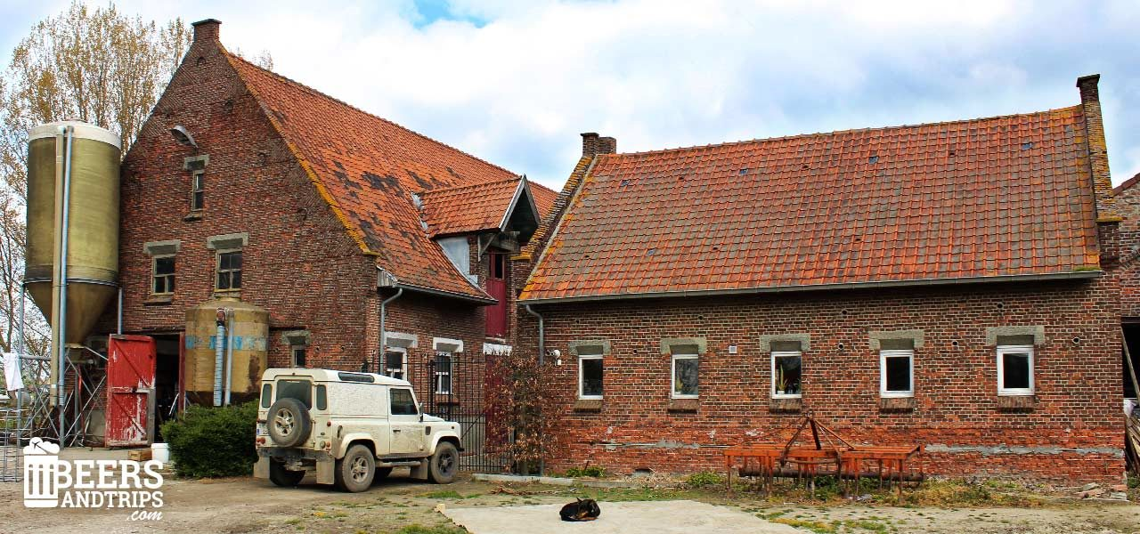 Granja - Fábrica de cerveza de Hof Ten Dormaal