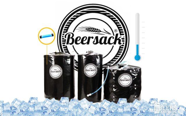 Beersack, el saco enfriador para barriles de cerveza