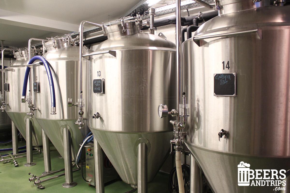 Fermentadores de Brussels Beer Project
