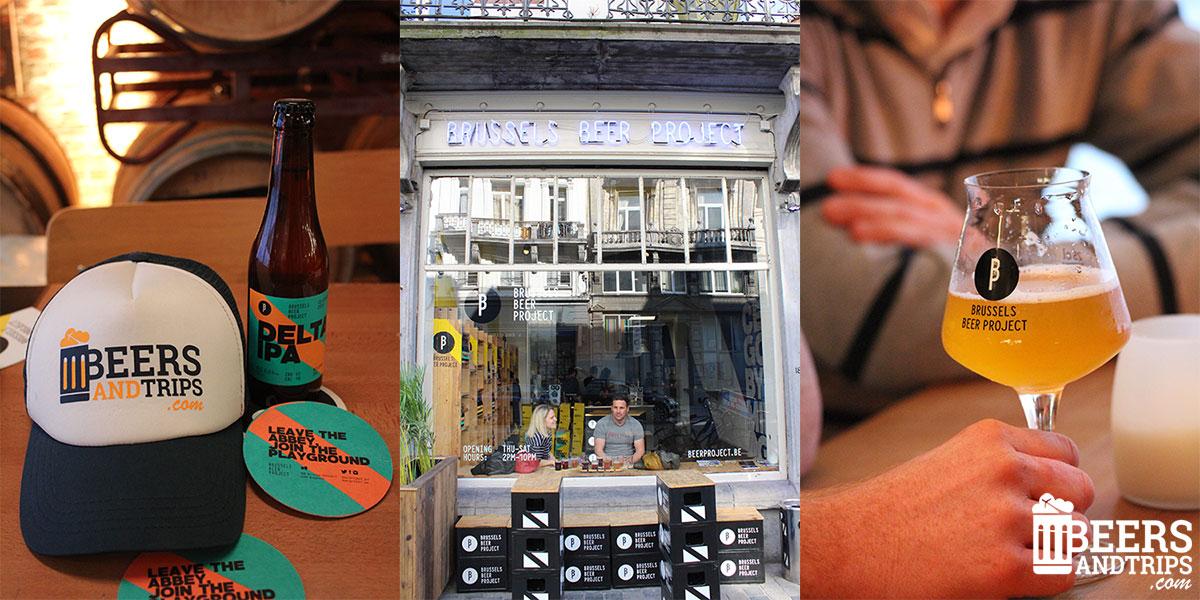 Visita al taproom de Brussels Beer Project