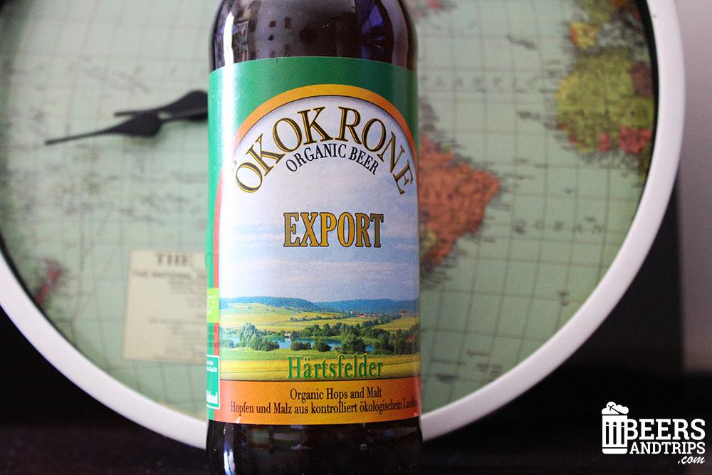 Cerveza orgánica ÖKOKRONE producida en Alemania