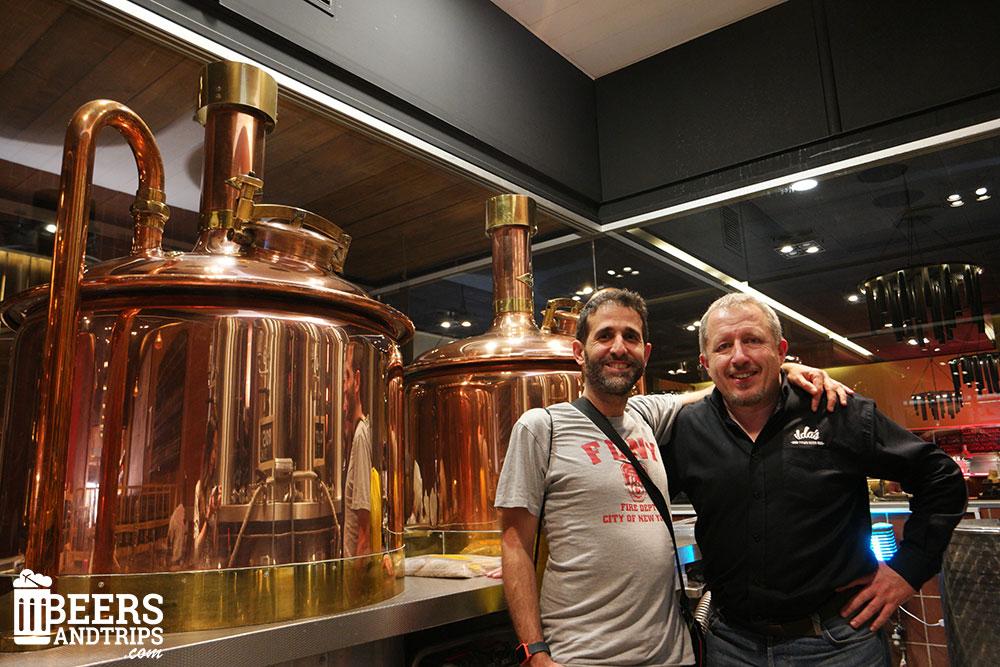 Visita a Ilda's con el maestro cervecero Tori