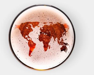 Cervezas artesanas del mundo