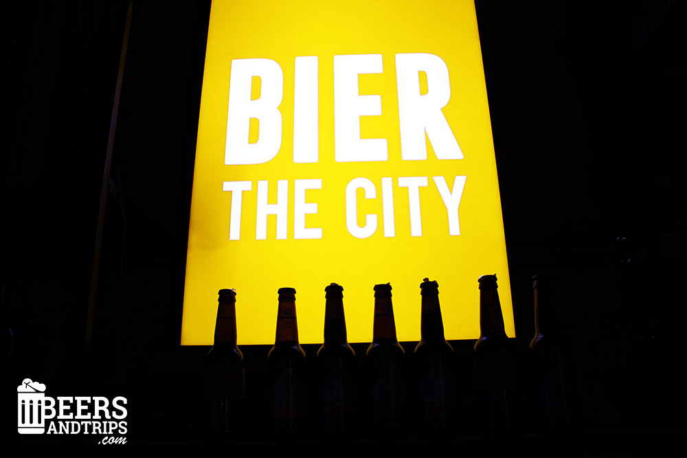 """Bier the city"" en la cervecería Bierkraft"