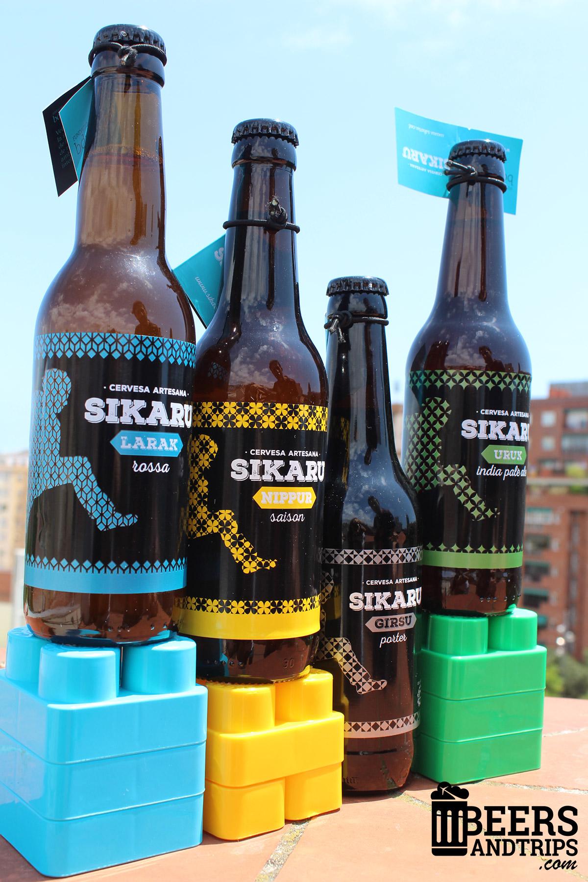 Los 4 estilos de Cervezas Sikaru
