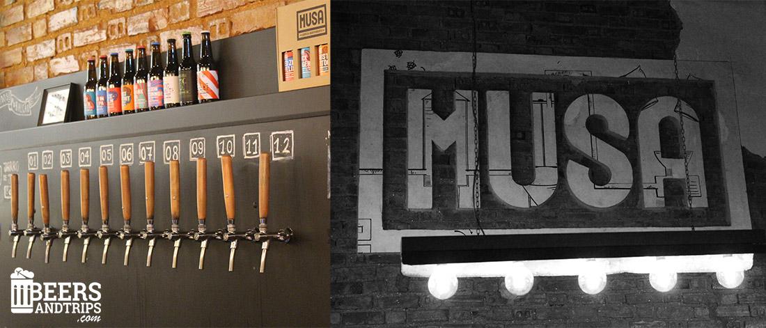 Visita a la fabrica de cerveza artesana y tapproom de Musa