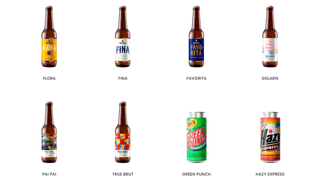 Cervezas artesanas de Río Azul