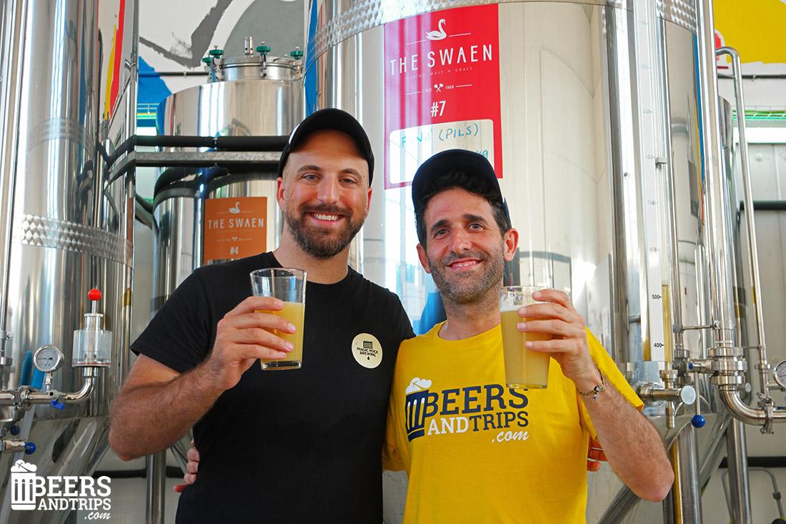 Eloy, brewer y creador de Río Azul