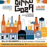 Cartel festival cerveza artesana Zaragoza Birragoza 2019