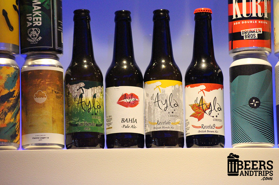Cervezas artesanas de Ayla