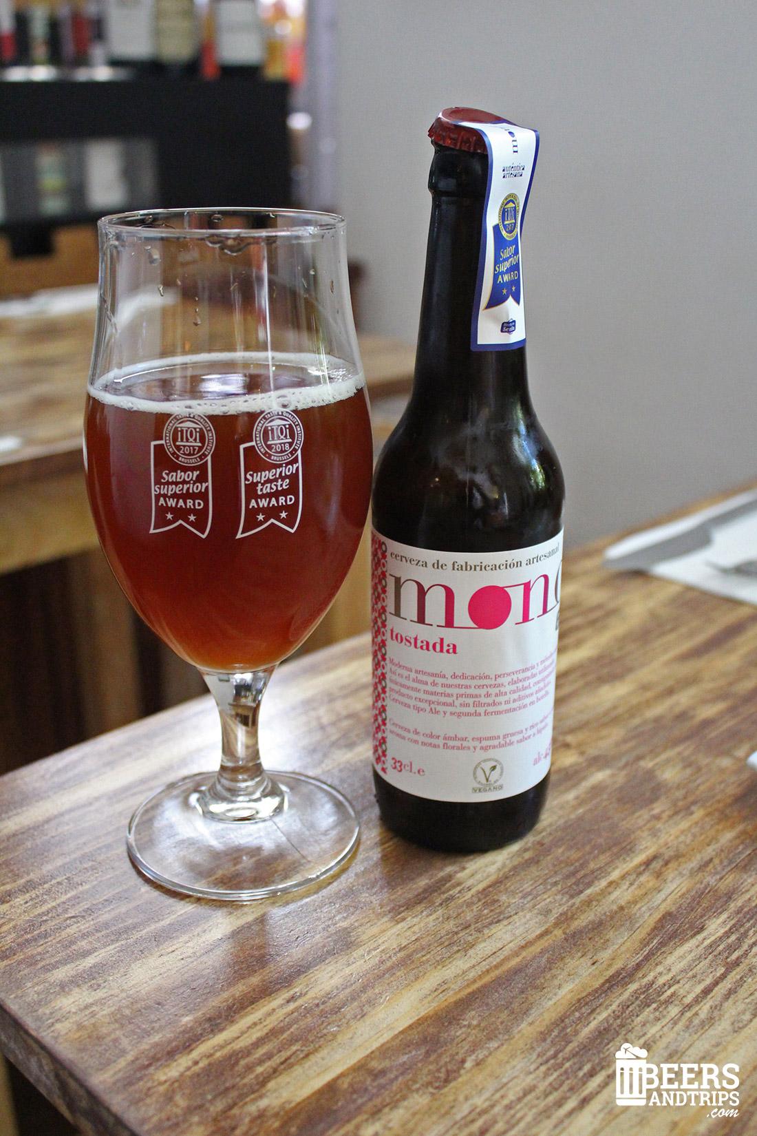 MOND Tostada, cerveza premiada internacionalmente
