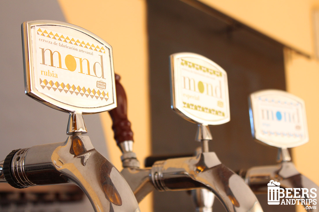 Tiradores de Cervezas MOND en la fábrica de la Rinconada