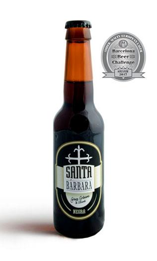 Cerveza Santa Bárbara Negra