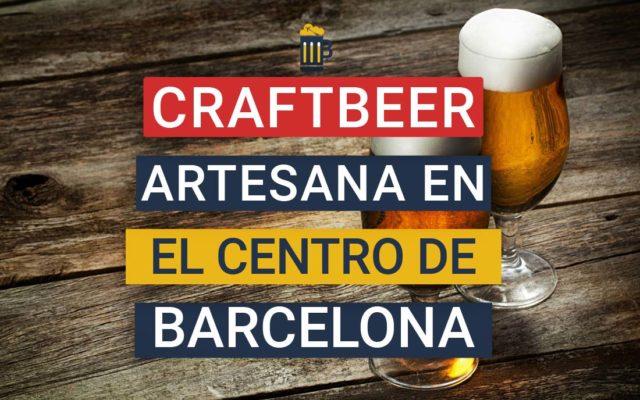 Craft Beer Pub, cerveza artesana y música en el centro de Barcelona