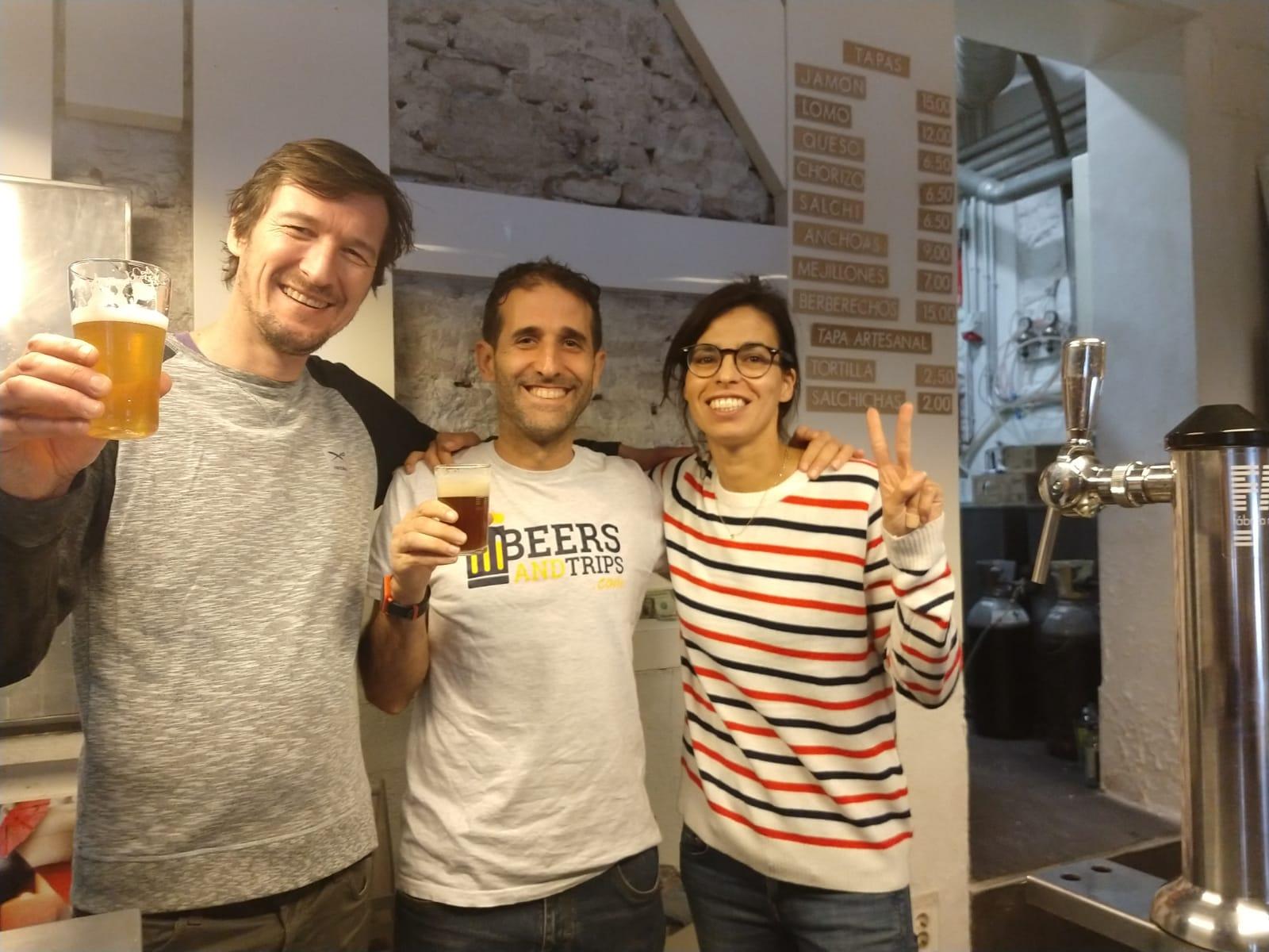 Visita a la microcervecería Fábrica Maravillas en Madrid