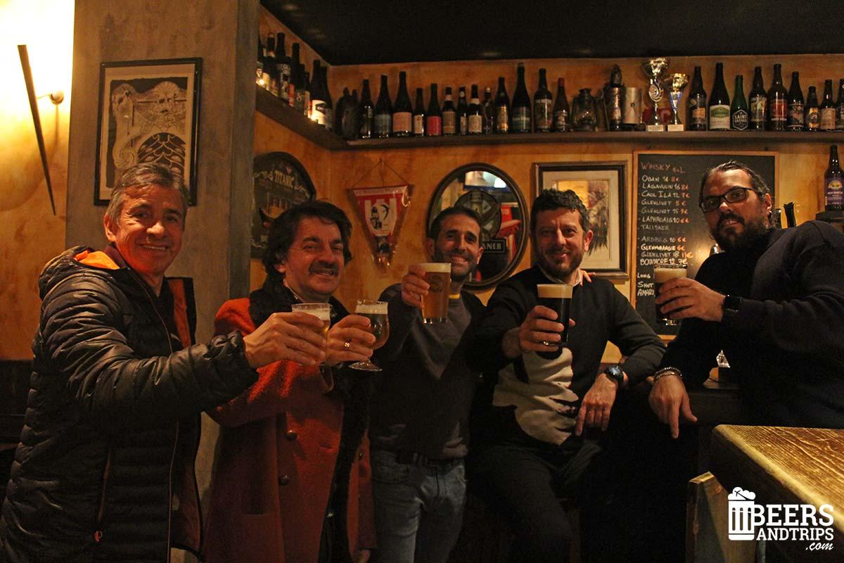 Visita al Archea Brewery de Florencia
