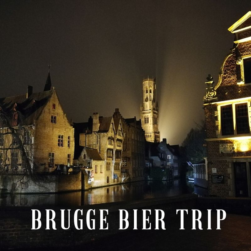 Viaje cervecero a Brujas
