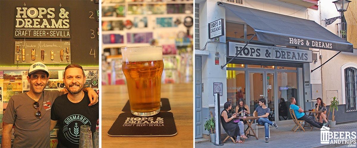 Hops and Dreams. Disfrutando de la buena cerveza artesana en Sevilla