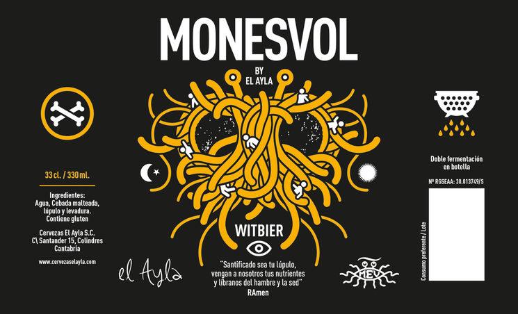 Cerveza artesana personalizada Monevol
