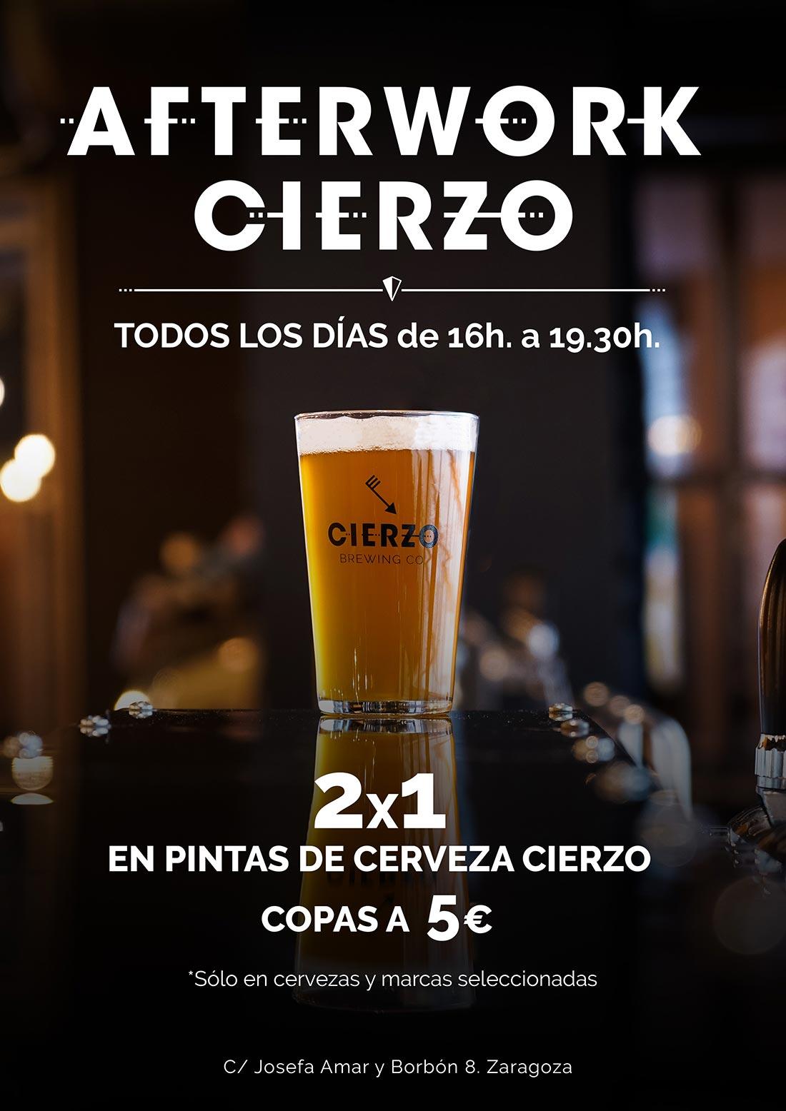 Afterwork del Cierzo en Zaragoza