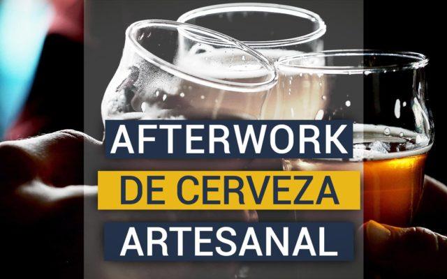 El fenómeno del afterwork corporativo con cerveza artesana