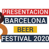 Presentación Barcelona Beer festival 2020