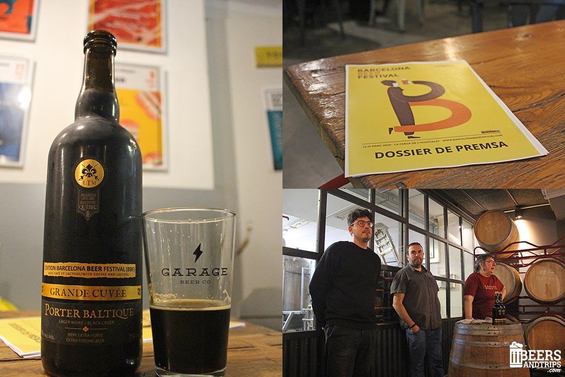 Presentación del Barcelona Beer festival 2020