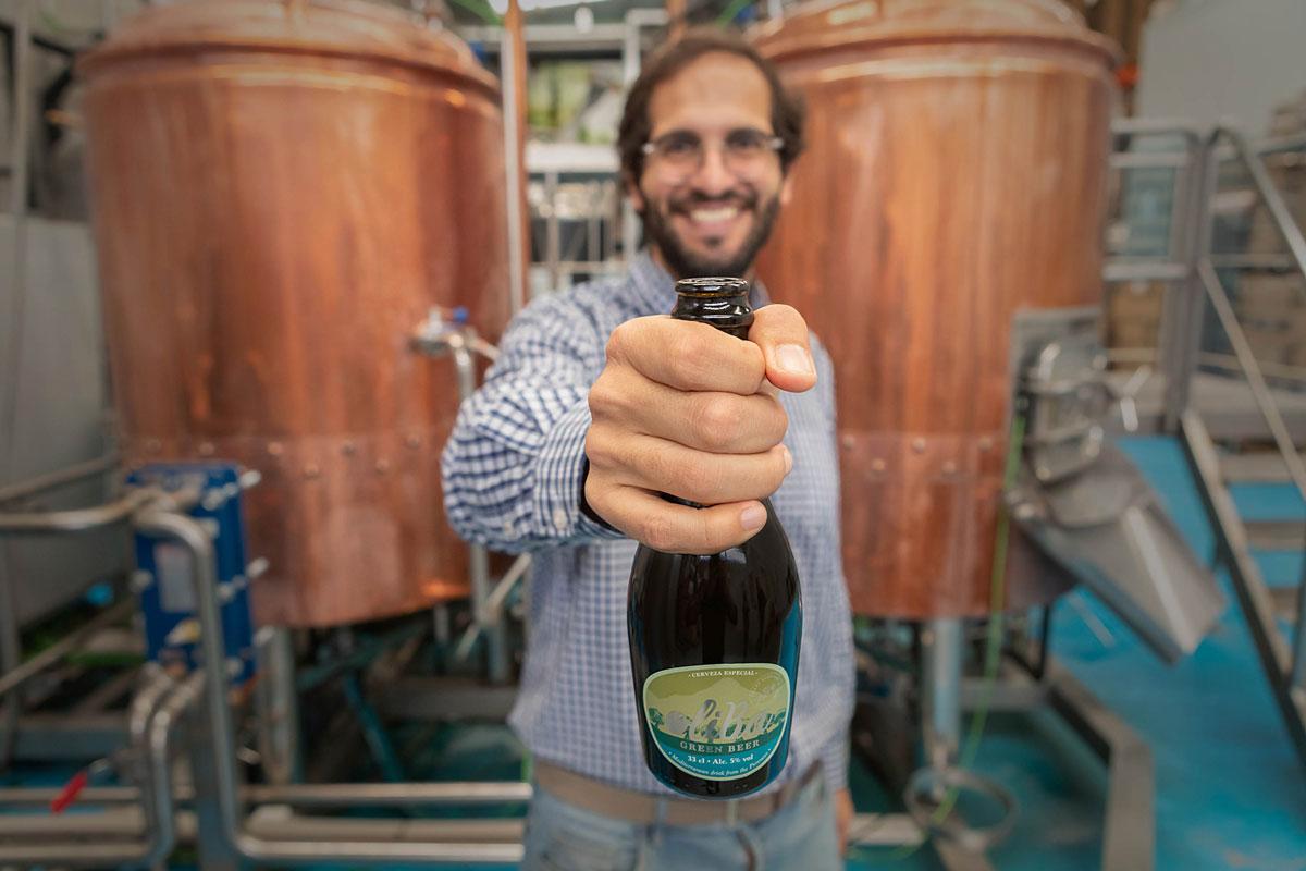 Ivan Caelles Colomés de Oliva Green Beer