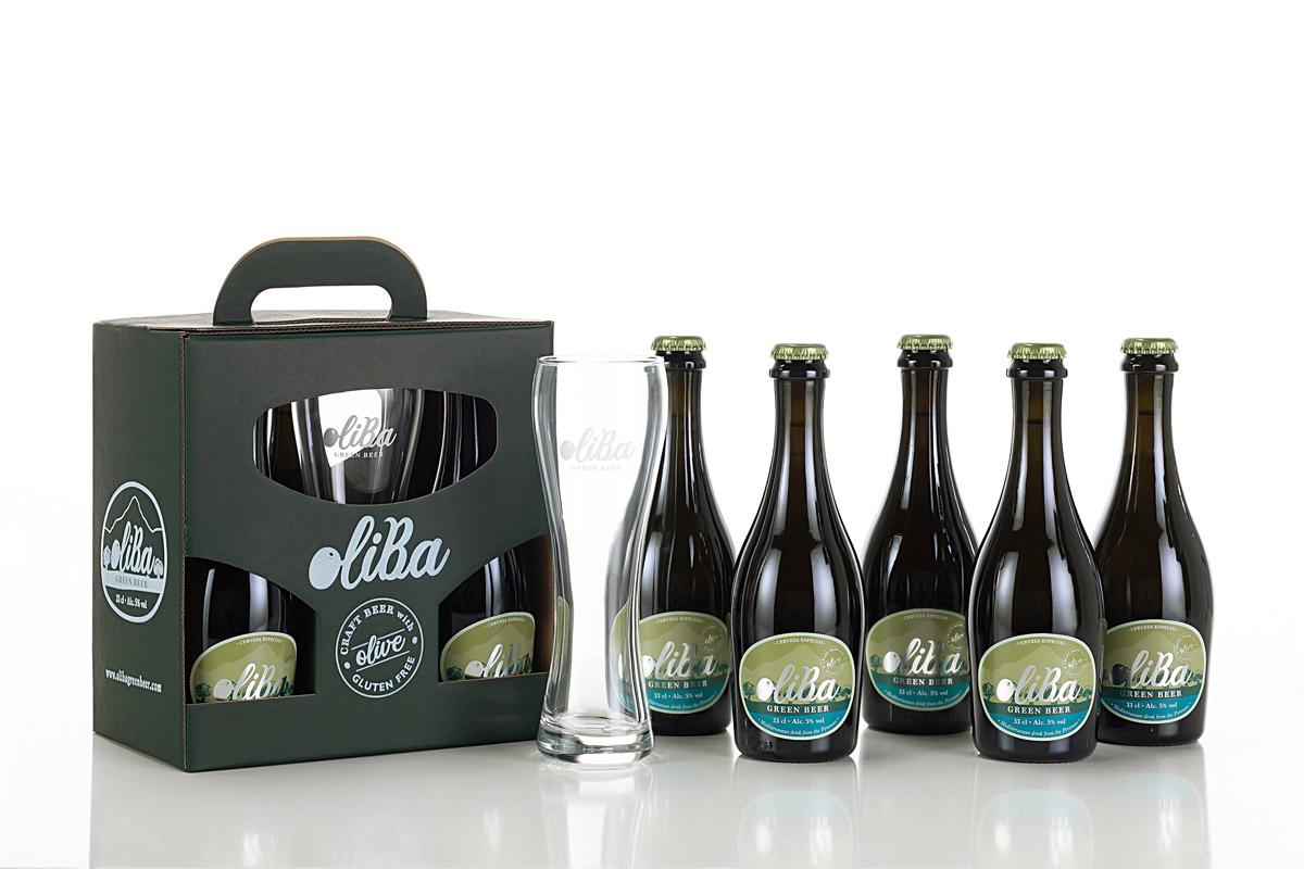 Cerveza artesana Oliba Green